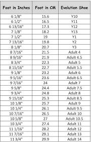 Nfinity Evolution Size Chart Nfinity Evolution Cheer Shoe Cheerleading Shoes