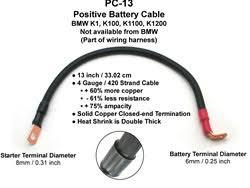 enduralast bmw k battery cable kit neg kit enduralast bmw k battery cable kit 61 12 1 244 577 neg kit includes 3 cables