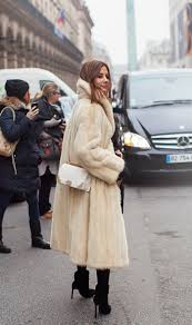 long fur coat street style 2