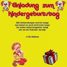 Einladung Zum Kindergeburtstag Herzliche Einladungsverse