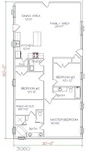 3 bed 2 bath 30 x60 1800 sq ft
