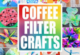 I'm always amazed when you can make gorgeous accessories from boring, every day materials. 50 Of The Best Coffee Filter Crafts