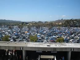 View From Escalator Looking To Parking Lot Picture Of