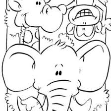 Small Picture Zoo Animal Coloring Pages For Toddlers Archives Mente Beta Most