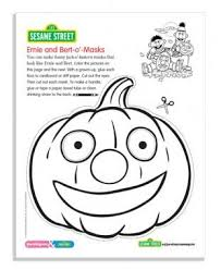 Small Picture Sesame Street October Coloring Pages Parenting