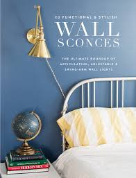 40 Stylish Swing Arm Sconces The Ultimate Roundup Pencil Shavings Awesome Bedroom Swing Arm Wall Sconces