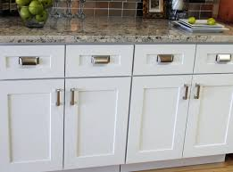 White Shaker Style Cabinets Lowes With Crown Moulding Bathroom Cabinet  Plans. Shaker Cabinet Doors With Bead Cabinets White Black Hardware.
