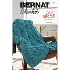 Bernat Blanket Yarn Patterns Knit Inspiration Bernat Blanket Yarn Home Decor Book 48 From Kay's Crochet Patterns
