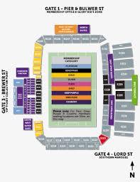 Seating Map Perth Glory Stadium Seating Png Image