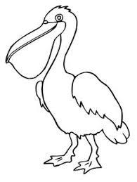 Small Picture Bird Printable Stencil Pelican Pelicans Pinterest Printable