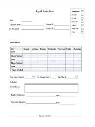 Payroll Forms Payroll Form Templates Sakusaku Co