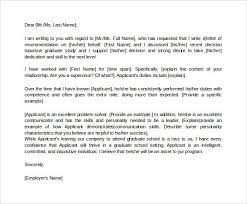 sample recommendation letter for scholarship from employer letter of recommendation for graduate school from employer in word