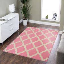 clifton collection moroccan trellis design pink