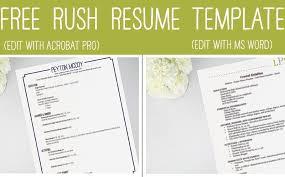 Sorority Resume For Rush Sample Sorority Resume Bef5cae7b3c6 Anyett