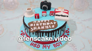 How To Make Birthday Cake For Boyfriend Youtube
