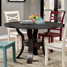 luxury round espresso dining table 8 inspiration glass my style of