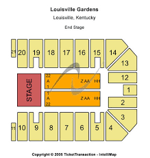 Louisville Palace Seating Chart End Stage Louisville Gardens Tickets In Louisville Kentucky