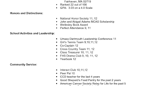 Current College Student Resume Template Immigration Services