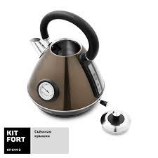 Электрический <b>чайник Kitfort</b> КТ-<b>644</b>-<b>2</b> в Москве – купить по ...
