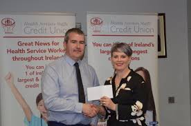 "HSSCU on Twitter: ""Pascal Keeve presenting a sponsorship cheque to Evelyn  Griffith of @CanTeen_Ireland #CSR #putsUfirst at our High Street event  #inspiration… https://t.co/G9eeBR2LxO"""