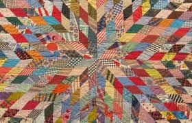 From Heart to Hand: African American Quilts Exhibit at the BYU MOA ... & Close up of Lone Star Adamdwight.com