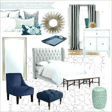 Gray And Navy Blue Bedroom Gardens Grey A Master For Coral Yellow Decor