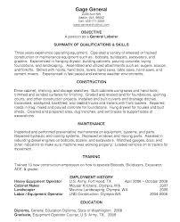 Warehouse Worker Resume Adorable Resume Objective For Warehouse Worker General Objectives Examples