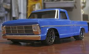 1/10 1968 Ford F-100 Pick Up Truck V100-S 4WD Brushed RTR RC TRUCK ...