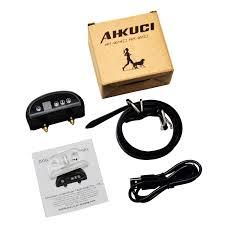 AHKUCI <b>Pet Dog</b> Training <b>Collar Cowhide</b> Electric Adjustable Level ...