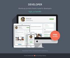 Ux Bootstrap On Twitter Developer Free Bootstrap 4