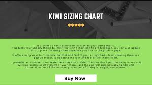 Best Size Chart App For Shopify Fashion Stores