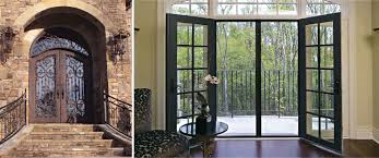 custom french patio doors. Captivating Wrought_Iron_Patio_Doors Custom French Patio Doors O