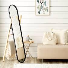 floor mirror. Umbra Hub Full-Length Floor Mirror