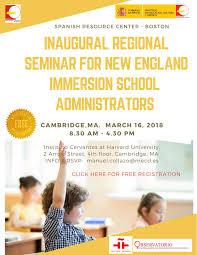 Inaugural Regional Seminar for New England Immersion School Administrators  by Manuel Collazo - issuu