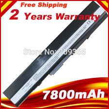 <b>HSW</b> 7800mah <b>Laptop Battery For</b> ASUS A52 A52F A52J K52D ...
