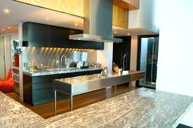 modern kitchen design with black wood and stainless steel full island ideas small images