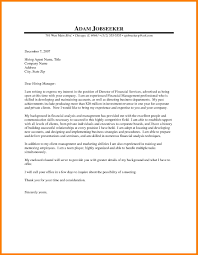Brilliant Ideas Of Financial Analyst Cover Letter Examples