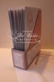 Mini Magazine Holder detailed tutorial for this minimagazine holder for 100 X 100 cards 80