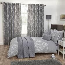 blossom silver grey fl jacquard luxury duvet cover