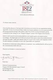 Justin Letourneau Reference Letters Letter Of Reference