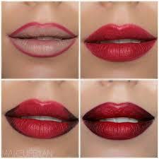 description dark full lips makeup tutorial evatornado