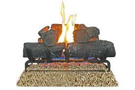 18 vent free gas logs procom in lp fireplace log