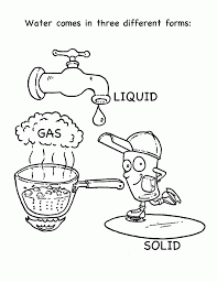 Small Picture Water Cycle For Kids Coloring Page Coloring Home