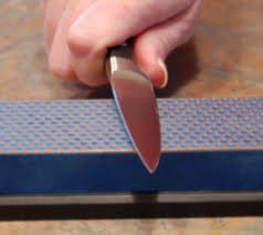 Step-by-Step Knife Sharpening