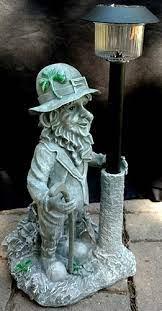 irish garden statue leprechaun