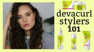 Devacurl Light Defining Gel Vs Styling Cream Devacurl Products Review How To Pick The Right Products