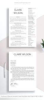 Clean Resume Design Resume Clean Resume Designs 18