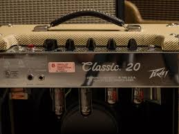 Peavey Classic Cabinet Peavey Classic 20 Tweed Tube Amp For Sale Harmony Central