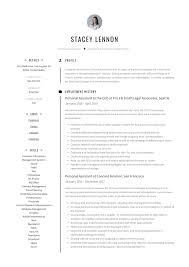 Personal Assistant Resume Writing Guide 12 Templates Pdf 19