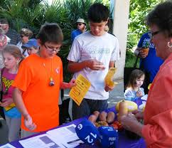 an educational program on fall vegetables was one of several youth activities presented by bexar county